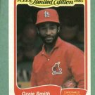 1985 Fleer Limited Edition Ozzie Smith St Louis Cardinals Oddball # 35