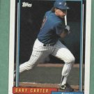 1992 Topps Traded Gary Carter Expos # 22T