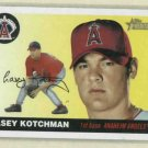 2004 Topps Heritage Casey Kotchman Angels Rookie
