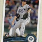 2011 Topps Jeremy Hellickson Tampa Bay Rays Rookie