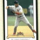 2002 Fleer Genuine Albert Pujols St Louis Cardinals # 193