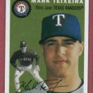2003 Topps Heritage Mark Teixeira Texas Rangers New York Yankees Rookie # 95