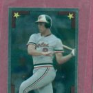 1986 Topps Silver Sticker Cal Ripken Jr Baltimore Orioles # 159 Oddball