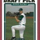 2005 Topps Jeff Niemann Rookie Tampa Bay Rays # 682