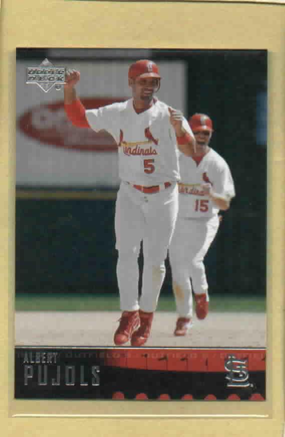2004 Upper Deck Albert Pujols St. Louis Cardinals # 160