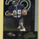 2002 Playoff Chester Taylor Ravens Bears ROOKIE # 168 #D / 1500