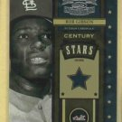 2004 Donruss Throwback Threads Century Stars Bob Gibson St Louis Cardinals # CS-8 #D / 1500