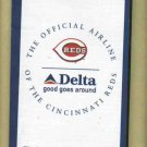 2005 Cincinnati Reds Pocket Schedule Delta Airlines