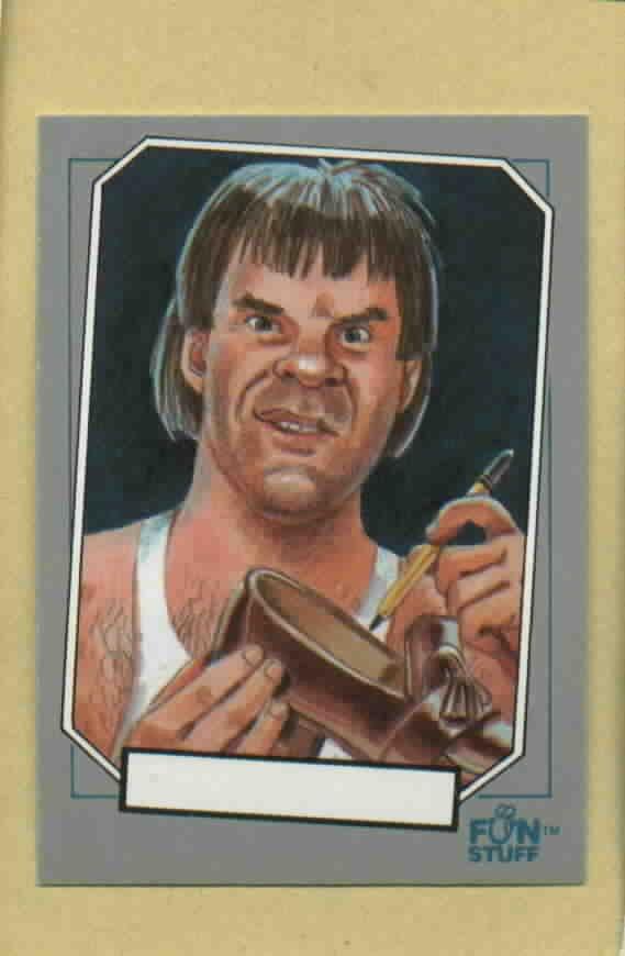 1992 Baseball Enquirer Pete Rose Oddball Baseball Card