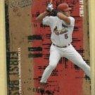 2005 Donruss Leather & Lumber Albert Pujols St Louis Cardinals # 5