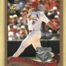 2002 Topps Opening Day Albert Pujols St Louis Cardinals # 5