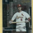 2003 Playoff Absolute Memorabilia Albert Pujols St Louis Cardinals # 10