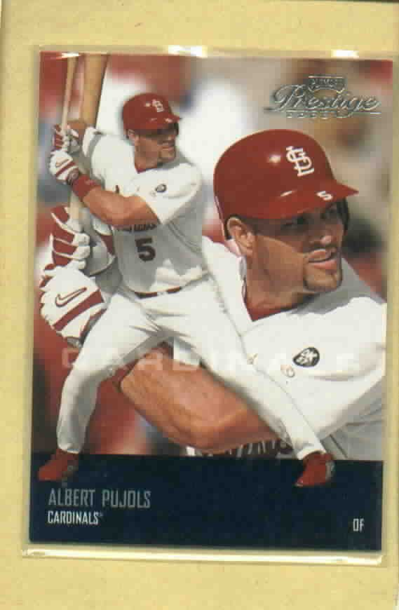 2003 Playoff Prestige Albert Pujols St Louis Cardinals # 175