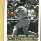 2002 Fleer Triple Crown Albert Pujols St Louis Cardinals # 186