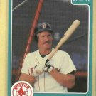 1988 Star Co. Wade Boggs Boston Red Sox # 5 Oddball