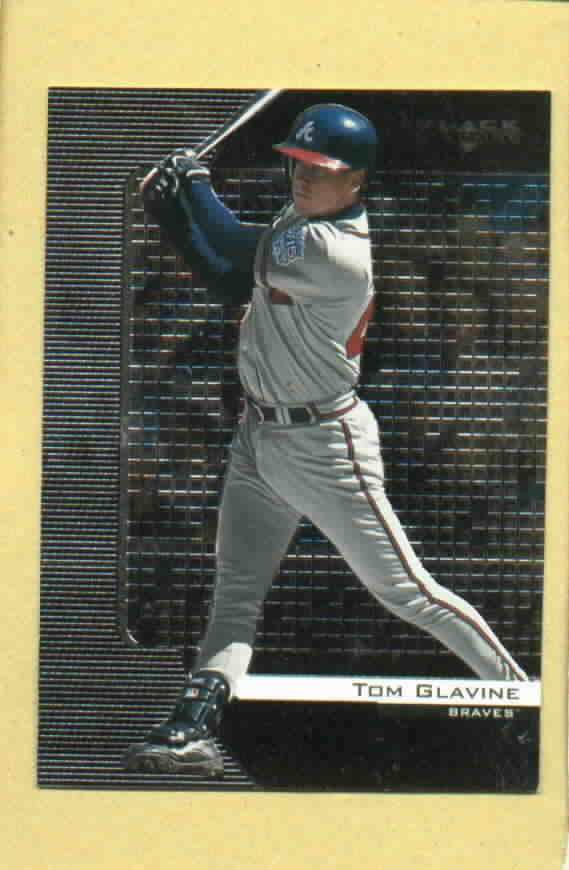 2000 Upper Deck Black Diamond Tom Glavine Atlanta Braves # 7