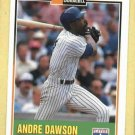 1993 Duracell Andre Dawson Chicago Cubs Oddball # 3