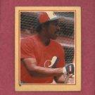 1984 Fleer Star Sticker Andre Dawson Montreal Expos Oddball # 18