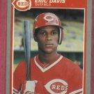 1985 Fleer Eric Davis Rookie Cincinnati Reds