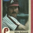 1983 Fleer Mike Schmidt Philidelphia Phillies # 173