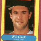 1988 Nestle Will Clark Baseball Card San Francisco Giants Oddball