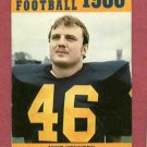 1980 University Of Toledo Rockets Football Pocket Schedule