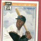 1987 Leaf Candy City Hall Of Fame Greats Willie McCovey Giants Oddball