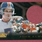 1996 Pinnacle Mint John Elway Denver Broncos