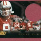 1996 Pinnacle Mint Steve Young San Francisco Fourty Niners 49ers