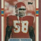 1989 Topps Traded Derrick Thomas Kansas City Chiefs Rookie HOF 90T