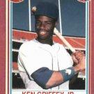 1990 Post Cereal Ken Griffey Jr. Seattle Mariners # 23 Oddball