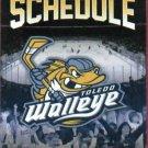 2011 2012 Toledo Walleye IHL Hockey Pocket Schedule