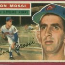 1956 Topps Don Mossi Cleveland Indians # 39