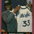 1992 Ballstreet Shaquille O'Neal Rookie USA Orlando Magic Oddball