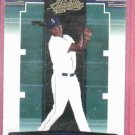 2005 Playoff Absolute Memorabilia Yuniesky Betancourt Seattle Mariners Rookie # 97