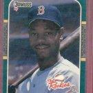 1987 Donruss The Rookies Ellis Burks Boston Red Sox # 5