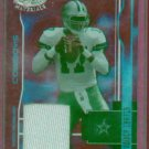 2003 Leaf Certified Mirror Red Quincy Carter Dallas Cowboys Jersey #D 19/150  # 35