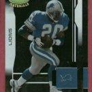 2003 Leaf Certified Materials Barry Sanders Detroit Lions # 134