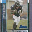2002 Bowman Clinton Portis Denver Broncos Rookie # 145