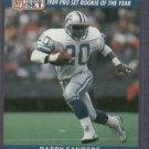 1990 Pro Set Gold Barry Sanders Detroit Lions # 1