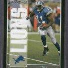 2005 Bowman Roy Williams Detroit  Lions Dallas Cowboys # 94