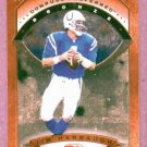 1997 Donruss Preferred Bronze Jim Harbaugh Indianoplis Colts # 20