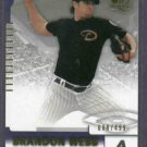2004 Upper Deck SP Brandon Webb Arizona Diamondbacks #D /499  # 53