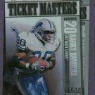 1999 Leaf Rookies & Stars Barry Sanders Herman Moore Detroit Lions #D / 2500