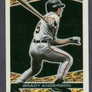 1993 Topps Black Gold Brady Anderson Baltimore Orioles # 24