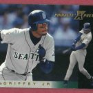 1997 Pinnacle X Press Ken Griffey Jr Seattle Mariners # 7