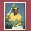 1981 Topps Sticker Rickey Henderson Second Year Oakland A's  #115
