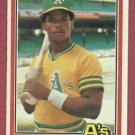 1981 Donruss Rickey Henderson Second Year Oakland A's # 119