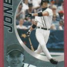 2002 Topps Nestle Chipper Jones Atlanta Braves Oddball # 10