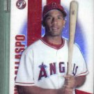 2004 Topps Pristine Alberto Callaspo Uncirculated Refractor Angels Rookie #d / 999 # 116